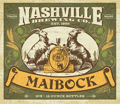 Nashville Maibock beer