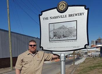 Nashville Beer Historical Marker