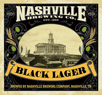 Nashville Brewing Company Black Lager Beer