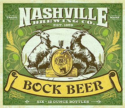 Nashville Brewing Co. Bock Beer