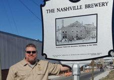 Nashville Brewery Historical Marker
